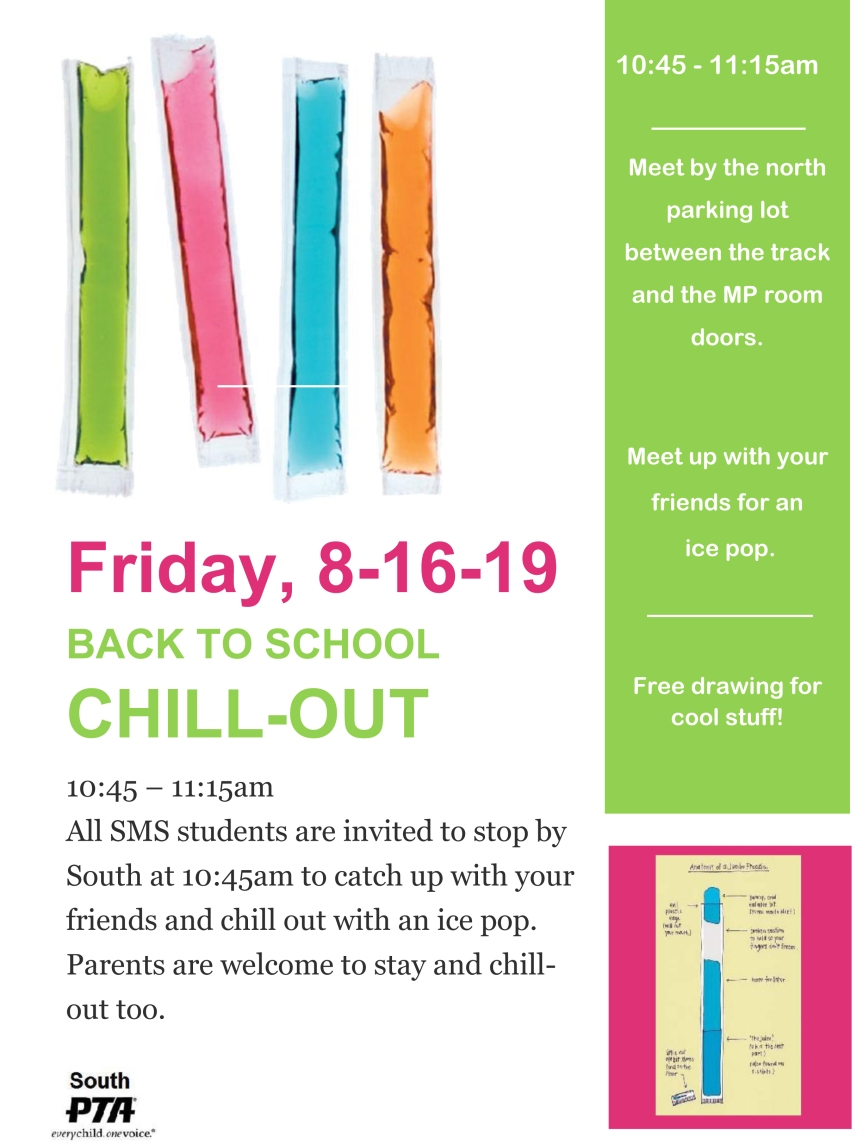 chill out invite 2019