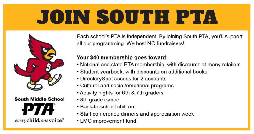 Join South PTA